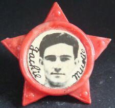 Stoke City FC Giocatore JACKIE mudie 1961-63 Star distintivo spilla pin 35 mm x 32 mm
