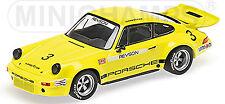 PORSCHE 911 Carrera RSR 2.8 1973 REVSON #3 RIVERSIDE IROC 1:43 MINICHAMPS