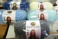 YARN.. POUND OF LOVE BY LION BRAND...ASSORTED COLORS