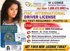 International Drivers License ITAC-Club.com 1yrs (NEW & 100%)