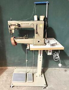 Seiko Cylinder Arm Industrial Walking Foot Ex-Heavy Duty Leather Sewing Machine