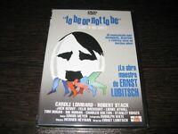 """ Tobe Or Not Tobe "" DVD Carole Lombard Robert Stack Sigillata Nuovo"