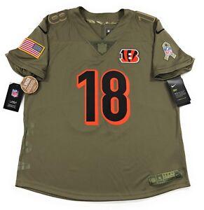 Nike NFL Cincinnati Bengals Salute To Service Jersey AJ Green 18 Womens Large