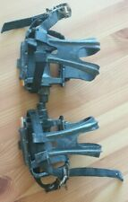 Road Bike Pedals with toe clips and straps