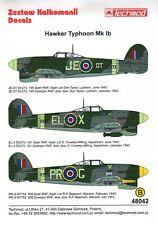 TM48042 - NEW Techmod Decals 1:48 Hawker Typhoon Mk.Ib Collection Part 1