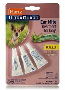 Hartz Ultraguard Ear Mite Treatment For Dogs
