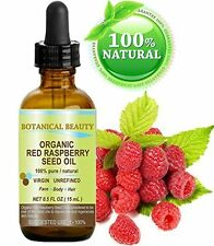 Red Raspberry Seed Oil Organic - 100% Pure Natural Undiluted