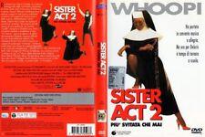 Sister Act 2 (1993) DVD 1° Edizione Warner Italiana Z8 Widescreen Raro OOP FC