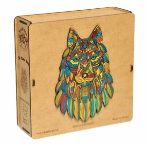 Wooden Jigsaw Puzzle The Timber Wolf