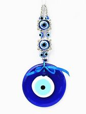 Blue Evil Eye Charm Hanging or Amulet decoration ornament for protection