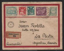 Hungary & Argentina RARE Mixed Usage 1921 Cover H&G 90, Sc #4, 68, 66 & 77