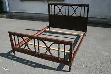 Lit en acajou estampillé Maurice HIRCH (Hirsch) - French furniture - Bed