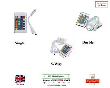 Infrared Controller for LED RGB Lights with 24 Keys Remote Single Double 5-Way