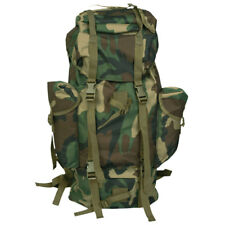 BW COMBAT BACKPACK RUCKSACK MILITARY HIKING BUSHCRAFT CAMPING ARMY WOODLAND CAMO