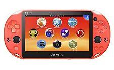 Sony PS Vita Pch-2000 Za24 Neon Orange Console Wi-fi Model Japan IMPORT F/s K