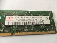 Hynix PC2-5300S 1 GB SO-DIMM DDR2 Memory (HYMP564S64CP6-Y5 AB-C)