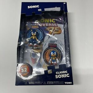NEW Classic Sonic 2 Pack - TOMY - With Exclusive Comic Book