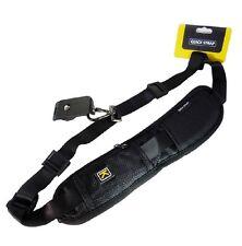 Quick Release Sling Shoulder Strap With Pocket for SLR and DSLR *UK SELLER*