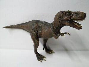 """Schleich Tyrannosaurus 2004 Dinosaur T-Rex 12"""" Long"""