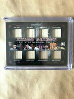 2014 ITG #/12, 8 PLAYER STICK CARD. Bobby Hull, Dave Keon..........