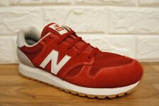 New Balance 520 Mens Size 7 Red Grey Suede Leather Brand new Trainers BNWB