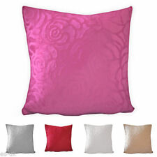 Cotton Blend Floral Decorative Cushion Covers