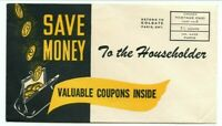 To the Householder Permit postage paid SAVE MONEY adertising Canada cover