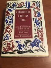 A History of American Life by Dixon R. Fox and Mark C. Carnes (1996, Hardcover,