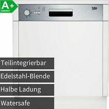 Beko 60cm Edelstahl Einbau Geschirrspüler Spülmaschine integrierbar 70°C Hygiene