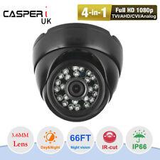CASPERi 1080P AHD CCTV 2MP Dome Camera In/Outdoor IR Night vision 3.6mm LENS