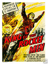 KING OF THE ROCKET MEN LOBBY CARD POSTER OS 1949 TRISTRAM COFFIN REPUBLIC SERIAL