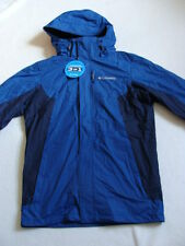 NWT Men's COLUMBIA Winter Jacket Size Small Blue 3-in-1 Rockaway Mountain Coat S