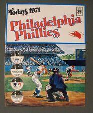 1971 Phillies Dell Baseball Photo Stamps Team Booklet Set~Bunning-McCarver-Ryan