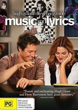 MUSIC AND LYRICS *Hugh Grant, Drew Barrymore - Region 4 dvd movie