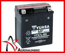 BATTERIA YUASA YTX7L-BS CON ACIDO per SUZUKI RG FGAMMA N / R 125 1992>1995