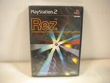 PlayStation2 -- Rez -- Shooting. NEW! JAPAN GAME. PS2. 35296