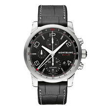 NEW Montblanc TimeWalker ChronoVoyager UTC Automatic Men's Watch 107336