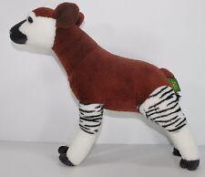 "Wild Republic Okapi Plush Stuffed Animal Saint Louis Zoo 2013 Cute 14"" Toy"