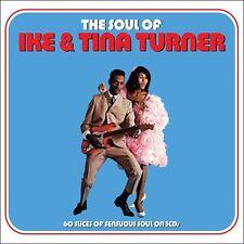 IKE & TINA TURNER - THE SOUL OF IKE & TINA TURNER - 2CD NEW SEALED 2014