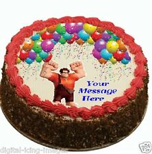 Wreck It Ralph Cake topper edible image icing Birthday Party REAL FONDANT