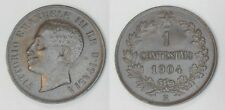 "VITTORIO EMANUELE III - 1 Centesimo ""Valore"" 1904  qFDC (2)"