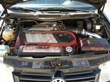 99-04 VW Golf Jetta 2.8 VR6 Polished Cold Air Intake Kit +BLUE Filter