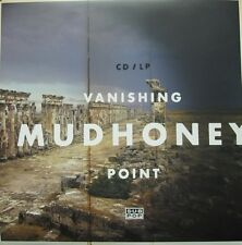 MUDHONEY 2013 vanishing point SUB POP promotional poster New Old Stock Mint Cond