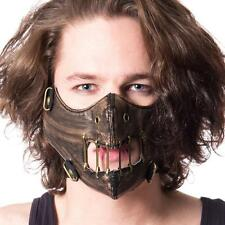 Hannibal Movie Horror Fantasy Bronze Color Cosplay Unisex PVC Face Mask One Size