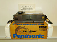 Panasonic NV-HS1000 High-End S-VHS Videorecorder in OVP w.NEU, 2J. Garantie