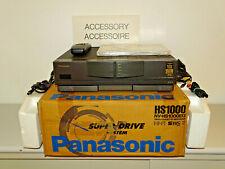 Panasonic nv-hs1000 High-End S-VHS Video recorder in OVP W. Nuovo, 2j. GARANZIA