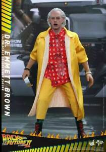 HOT TOYS 1/6 BACK TO THE FUTURE PART II MMS380 DR. EMMETT BROWN DOC