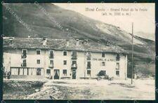 Torino Mont Cenis Moncenisio Granf Hotel Poste Auto cartolina VK3940