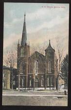 Postcard GENEVA  OH  M E Church View 1907 ?