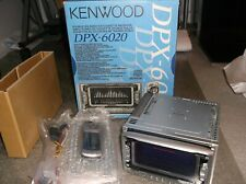OLD SCHOOL KENWOOD DPX-6020. DOUBLE DIN CD + CASSETTE RECEIVER!!  NEW-RARE-JAPAN